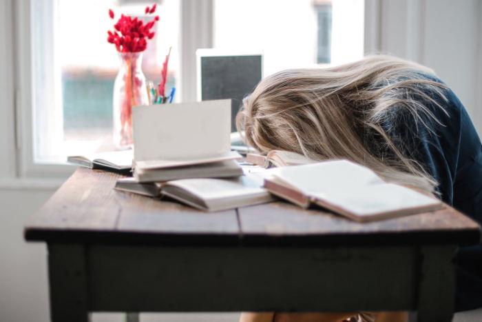 Aburrimiento en el estudio, cómo evitarlo