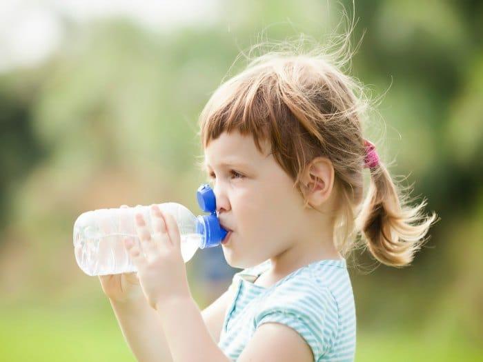Causas de la deshidratación en niños
