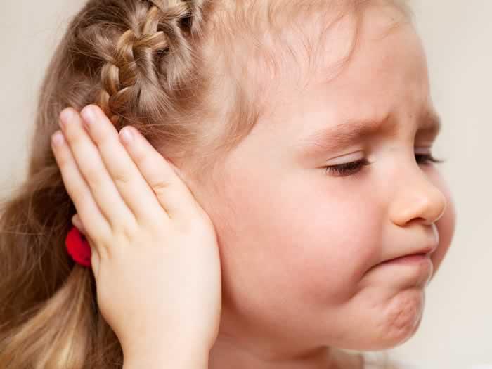 Dolor de oído: otitis en niños