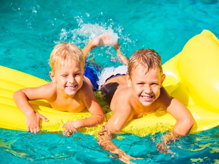 Precauciones con las piscinas y los niños