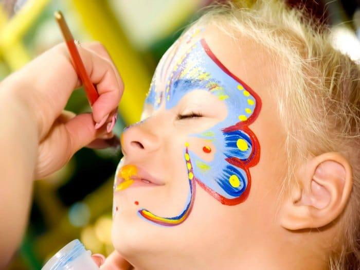 Precaución con el maquillaje de carnaval
