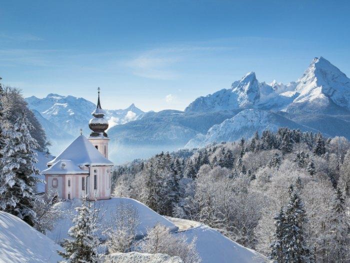 Invierno en los Alpes Suizos (Euroresidentes)